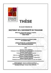 Thèse Michel Lages L'évolution de la gouvernace de la Sécurité sociale