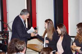 remise du prix régional par le Président de la Carsat Midi-Pyrénées